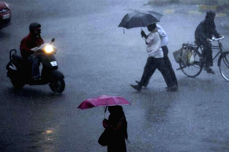 Heavy rains in Mumbai on July 2, 2014.