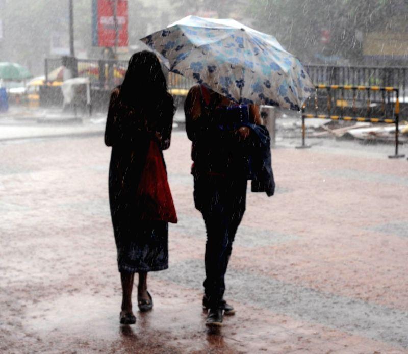 Heavy rains lash Kolkata on June 7, 2018.
