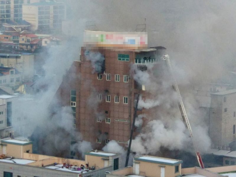 29 die, 29 injured in South Korean building fire