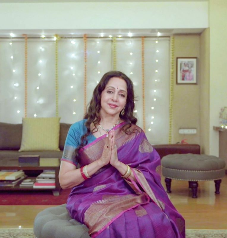 Hema Malini unveils Navratri songs on her birthday