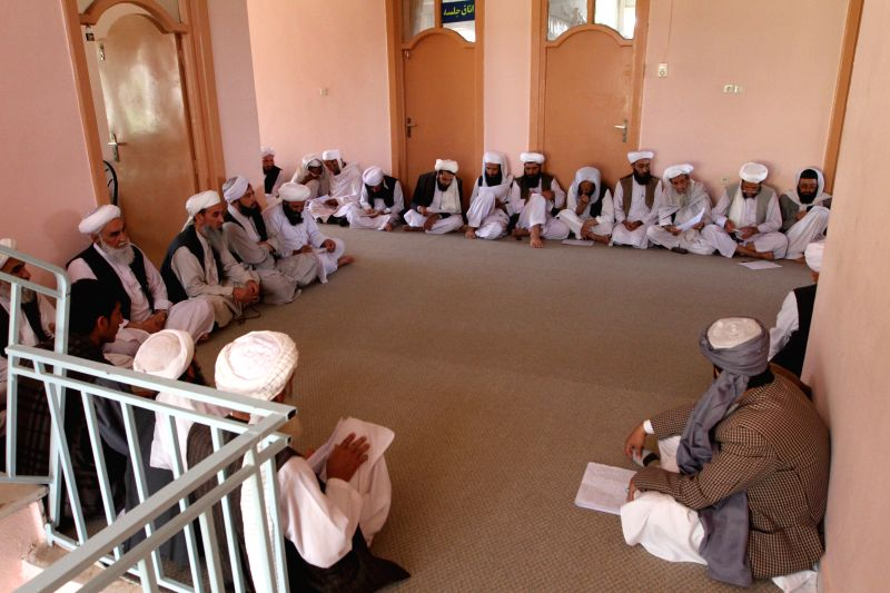 HERAT, June 10 Afghans attend a National Mourning Day ceremony in Herat, Afghanistan, June 10, 2017. In order to pay tribute to the Afghans who were killed in recent terrorist attacks, ...