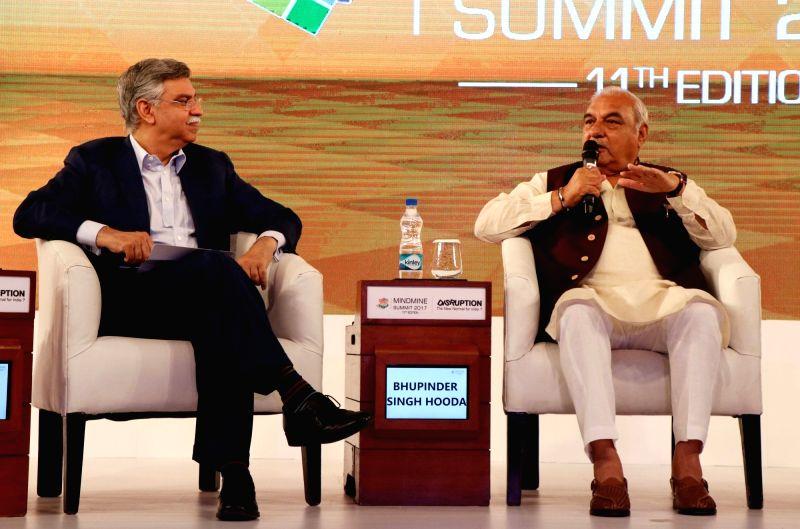 Mindmine Summit 2017 - Bhupinder Singh Hooda