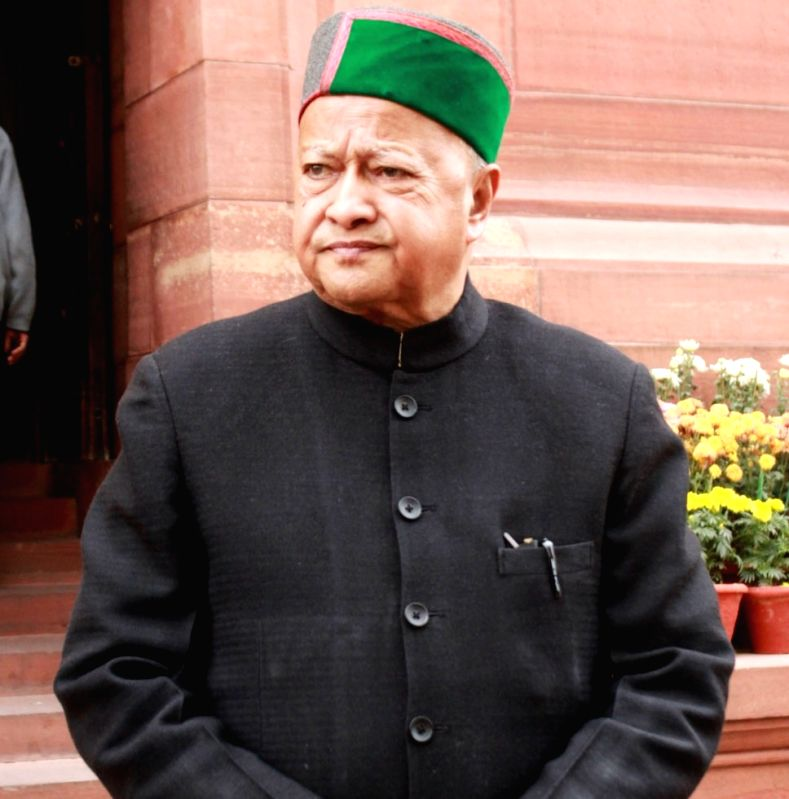 Himachal Pradesh Chief Minister Virbhadra Singh. (File Photo: IANS)