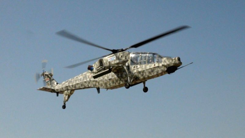Hindustan Aeronautics Limited carried out the first flight of Light Combat Helicopter.