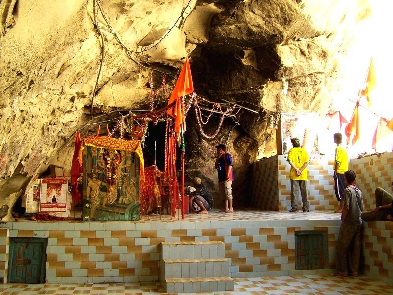 Hinglaj Mata temple.