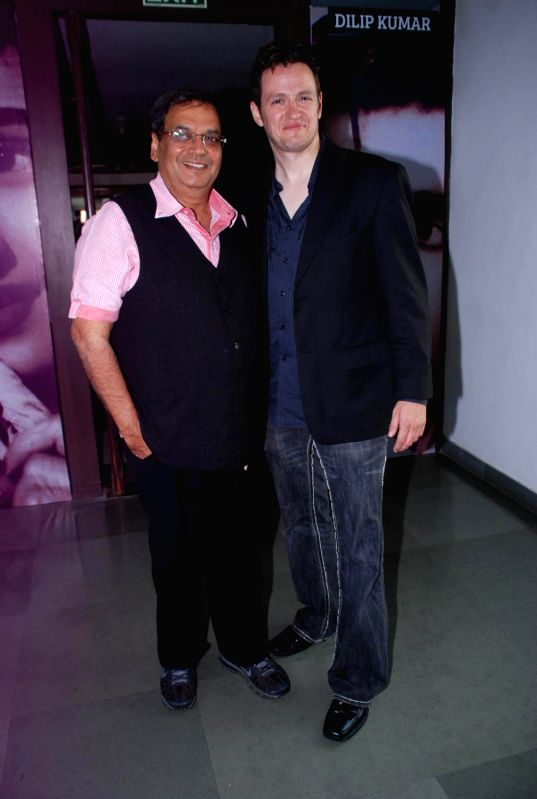 Hollywood actor Tom Malloy and bollywood director Subhash Ghai at Inspiration 2012 of Whistling Woods in Film City, Mumbai. - Tom Malloy
