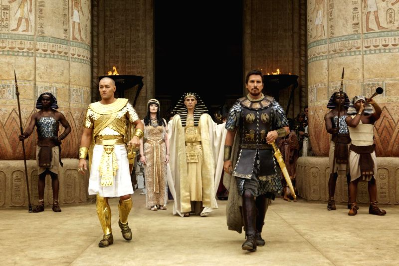 Hollywood movie `Exodus: Gods and Kings` stills.