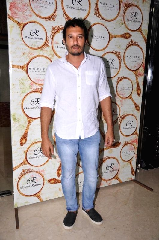 Homi Adajania during the High Tea Jewellery Preview in Mumbai on July 5, 2014.