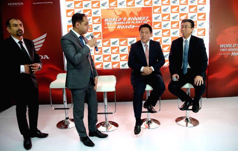 Honda's largest 2-wheeler plant in Kolar