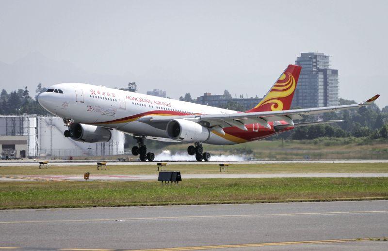 Hong Kong Airlines to reduce flights over protests. (Xinhua/Liang Sen/IANS)