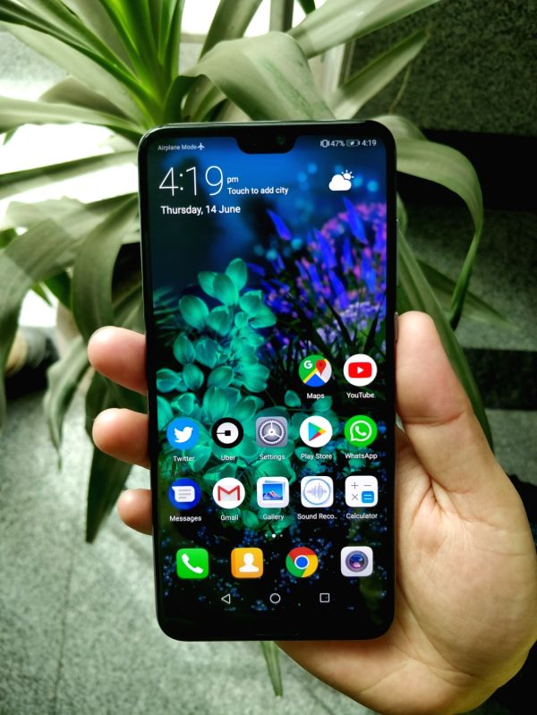 : Huawei P20 Pro. (File Photo: IANS).