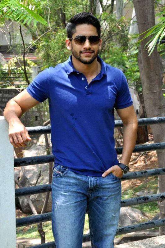 Actor Naga Chaitanya spoke to press at Annapoorna Studios.