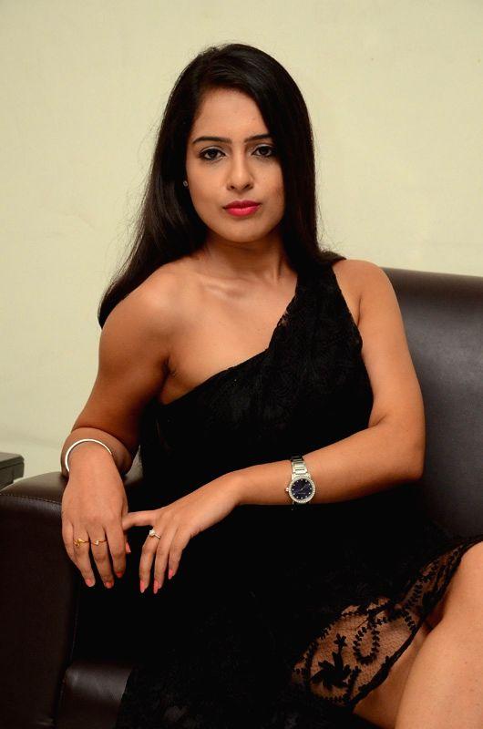 Hyderabad: Actress Malvi Malhotra stills from Telugu Film `Kumari 18+`