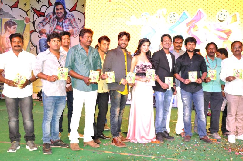 Actress Richa Panai at Lava Kusha film audio release launch function held at Hyderabad. - Richa Panai