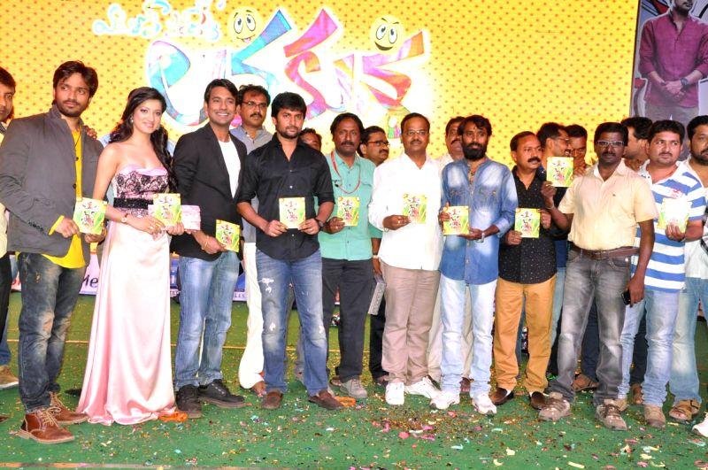 Actress Richa Panai at Lava Kusha film audio release launch function held at Hyderabad. - Richa Panai