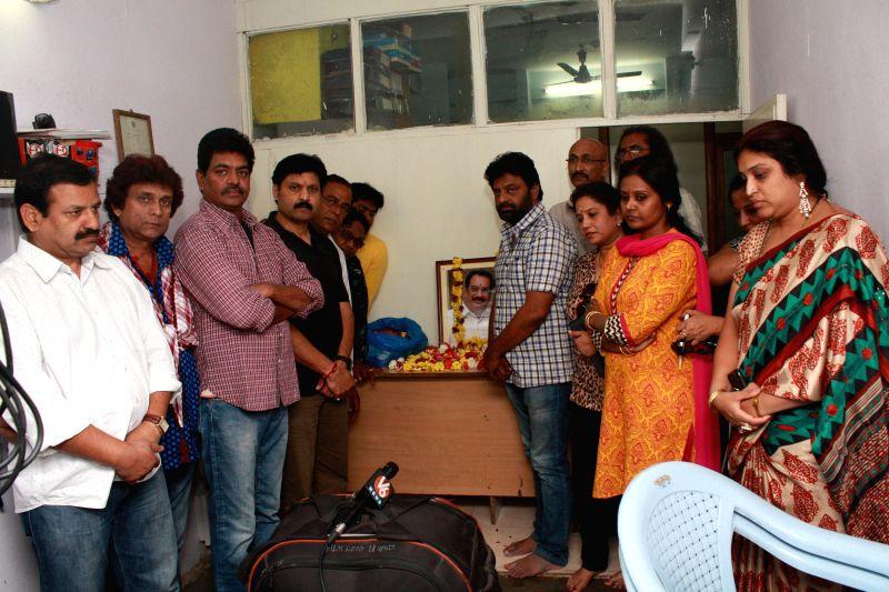 Ahuthi Prasad Santabha Sabha held at Hyderabad by TV Artist Association.