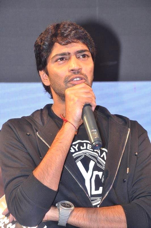 Allari Naresh acted Bandipotu Platinum disc function held at Vijayawada.