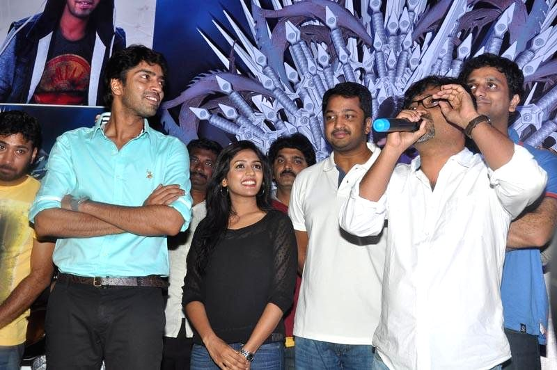 Allari Naresh's Bandipotu film promotional tour held at Vizag on Saturday (14th Feb) .
