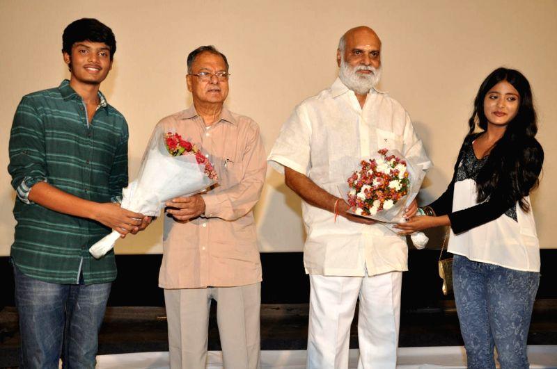 Andhra Pori Press meet in Hyderabad.