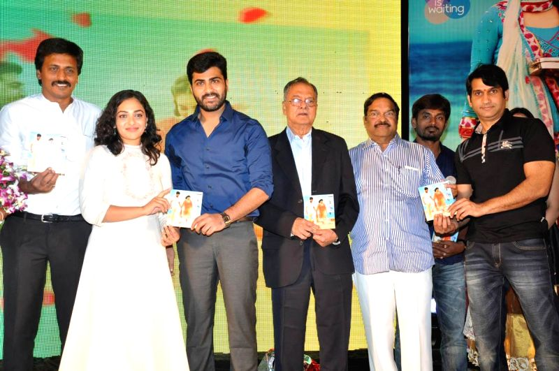 Audio launch of film Malli Malli Idi Rani Roju at Taj Deccan Hotel in Hyderabd on Dec. 7, 2014.