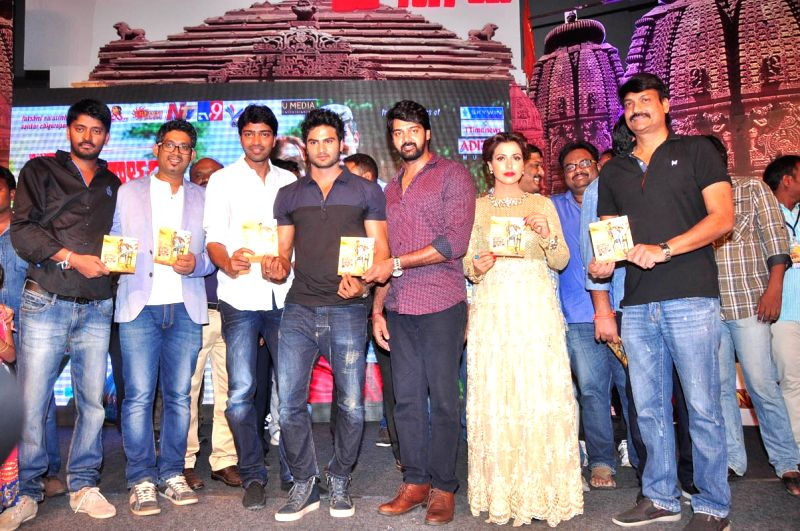Audio launch of Telugu movie Mosagallaku Mosagadu held JRC Convention Centre in Hyderabad on 26 April, 2015.