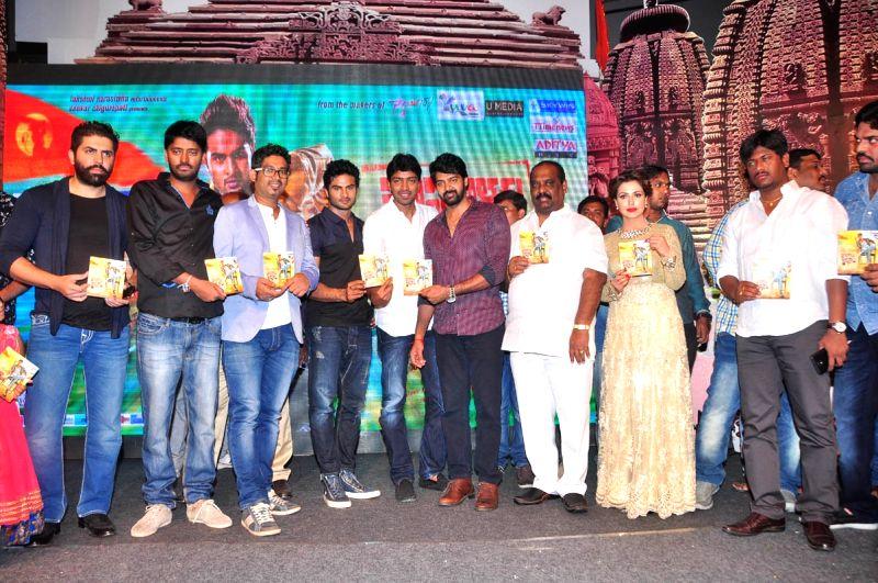 Audio launch of Telugu movie Mosagallaku Mosagadu held JRC Convention Centre in Hyderabad on 26 April, 2015.