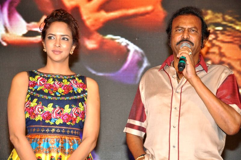 Audio launch of Telugu movie Dongata in Hyderabad on April 11, 2015.