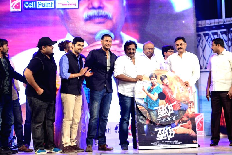 Audio launch of telugu movie Tiger at Shilapa Kalavedika in Hyderbad on 17th Feb 2015