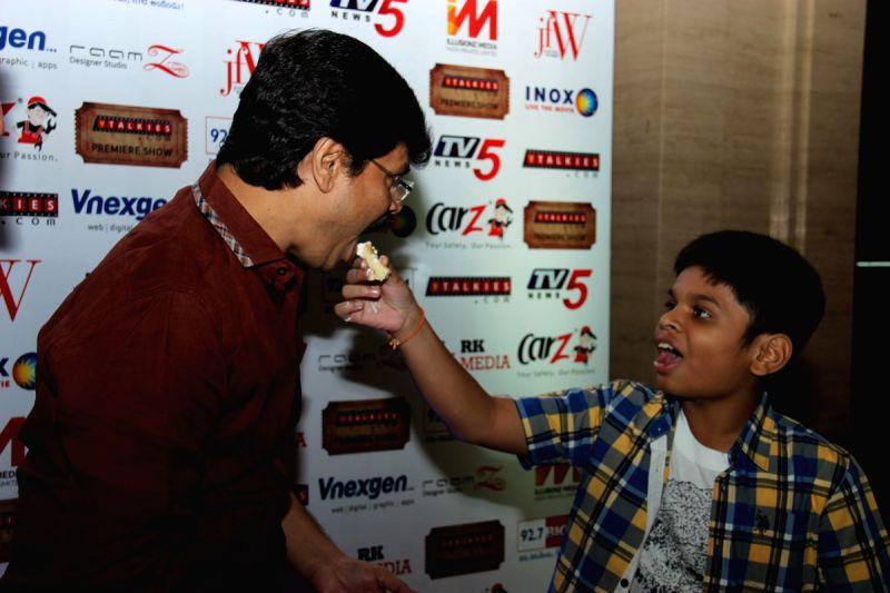 Birthday celebration of film director Boyapati Srinu in Hyderabad.