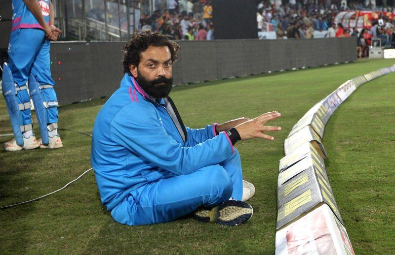 CCL 5 Semi Final 2 - Telugu Warriors Vs Mumbai at Rajiv Gandhi International Cricket Stadium, Hyderabad.