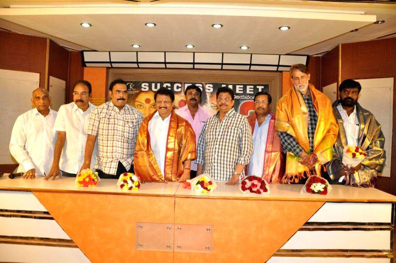 Chandrakala film success meet held in Hyderabad on Dec 23, 2014..