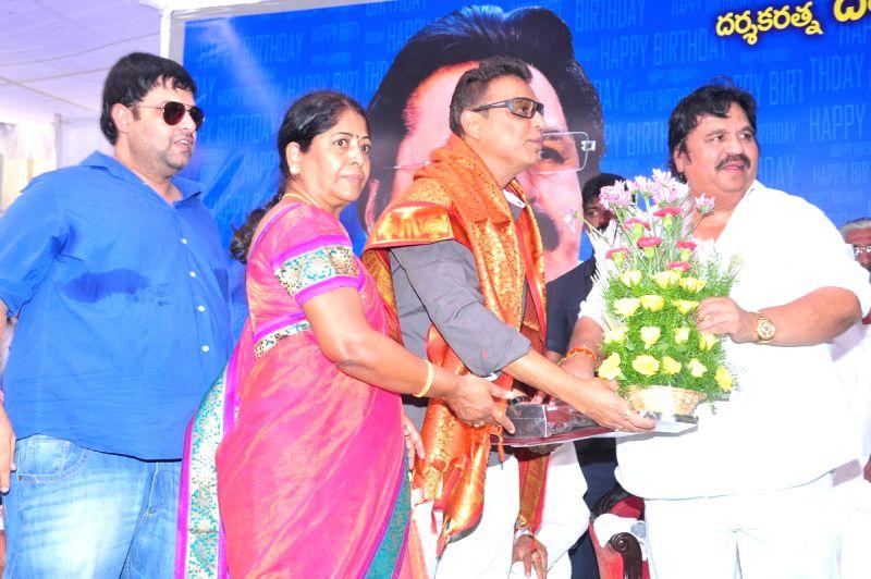 Dasari Narayana Rao  falicitated Chandamama Kathalu movie unit at his residence on 4th May 2015 - Dasari Narayana Rao