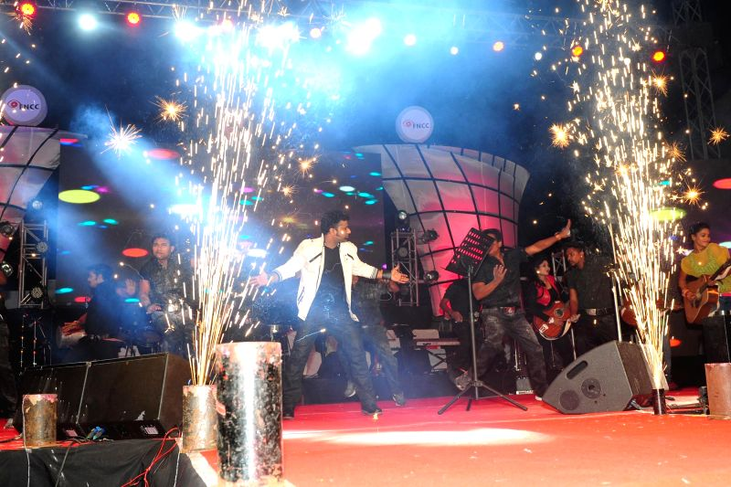 Devi Sri Prasad performance at Film Nagar Cultural Center.