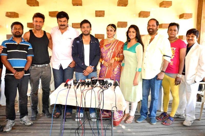Friendly Movies press meet held in Hyderabad.