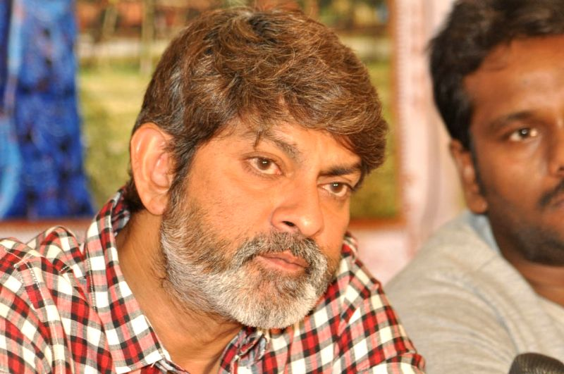 Jagapati Babu acted Telugu film Hitudu Press meet at Kukatpally in Hyderabad.