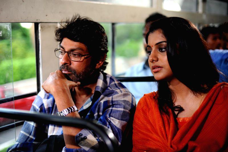 Jagapati Babu, Meera Nandan acted Hitudu film preview screened on jan. 07, 2015.