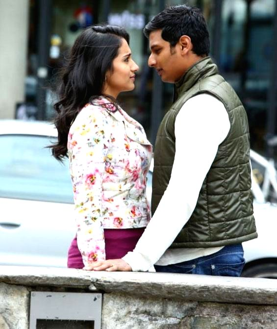 Jeeva-Trisha Starring `Chirunavvula Chirujallu` Releasing on March 13th.