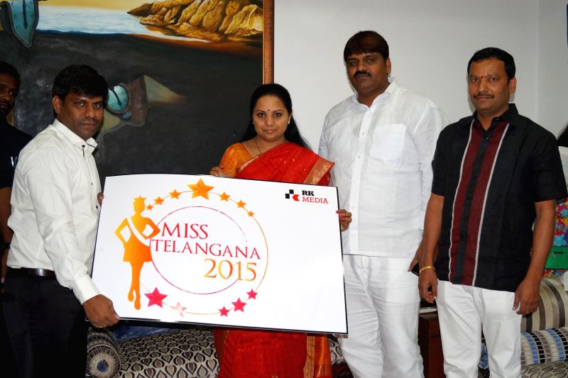 K. Kavitha, honourable Member of Parliament – Nizamabad, Telangana has launched the official logo of Miss Telangana Pageant in a special program at Hyderabad.