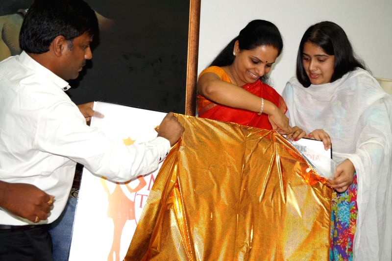 Miss Telangana 2015 Official Logo Launch By Smt K Kavitha