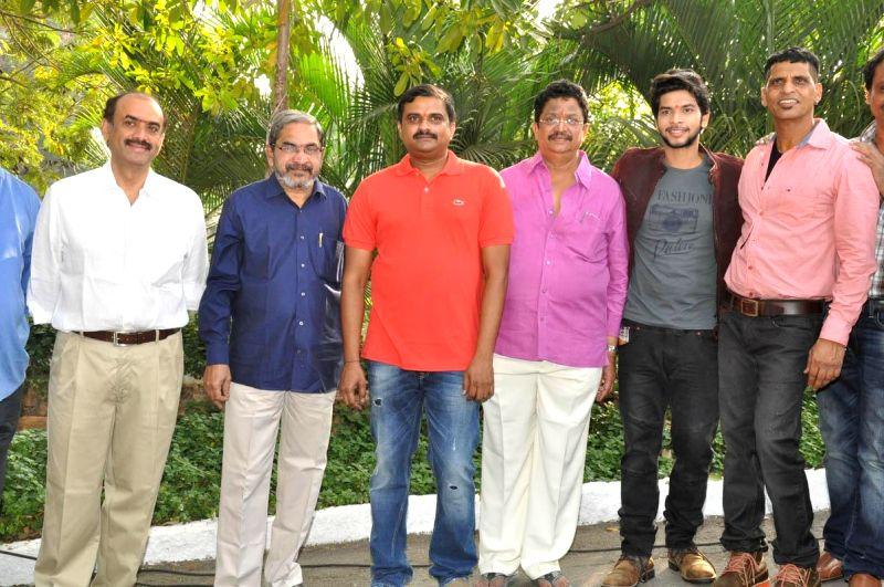 Kendra Entertainments muhurath held in Hyderabadon, on Dec 15, 2014.