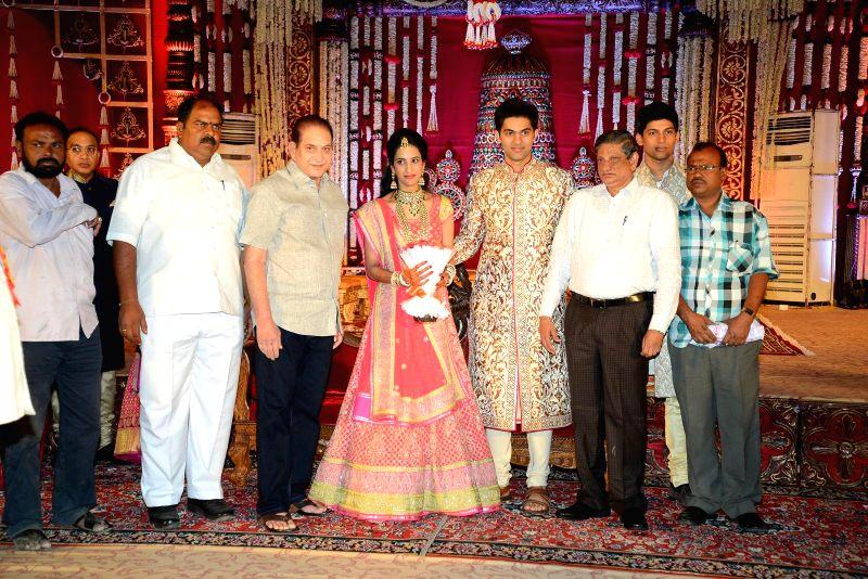 Krishna during Subbarami Reddy`s grand Son Rajiv marriage.