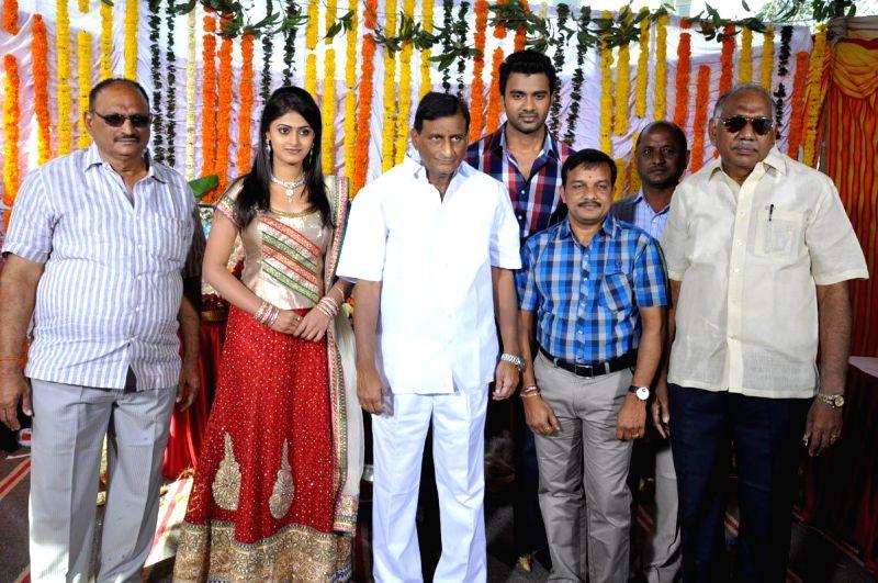 Launch of film Anaganaga Oka Chitram held today (06th Feb) morning at Ramanaidu Studios in Hyderabad.