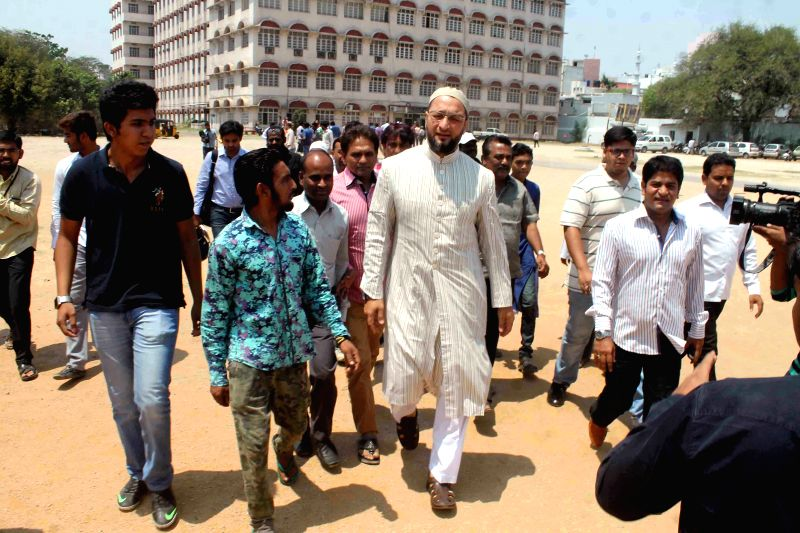 Majlis-e-Ittehadul-Muslimeen (MIM) chief and Hyderabad MP Asaduddin Owaisi addresses media on challenging the verdict of a Delhi court in the 1987 Hashimpura massacre case in a higher ...
