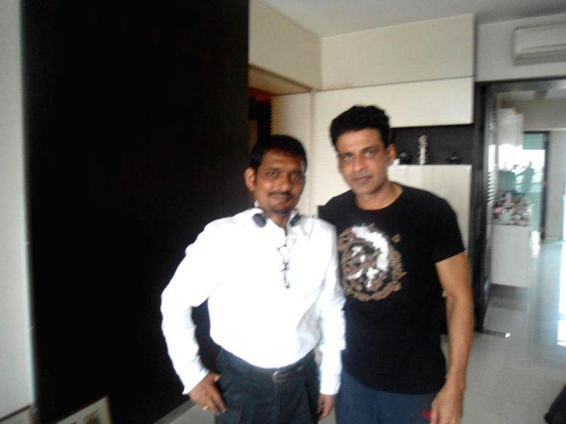 Manoj Bajpai as Shyam Gopal Varma in Bollywood.