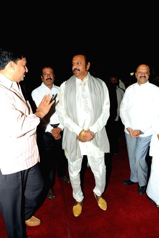 Mohan Babu during Subbarami Reddy`s grand Son Rajiv marriage.