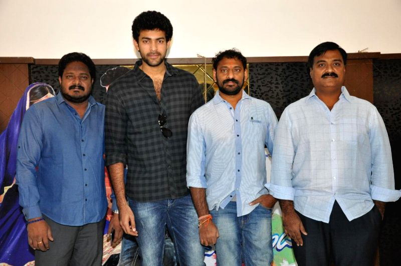 Mukunda press meet held in Hyderabad, on Dec 23, 2014..