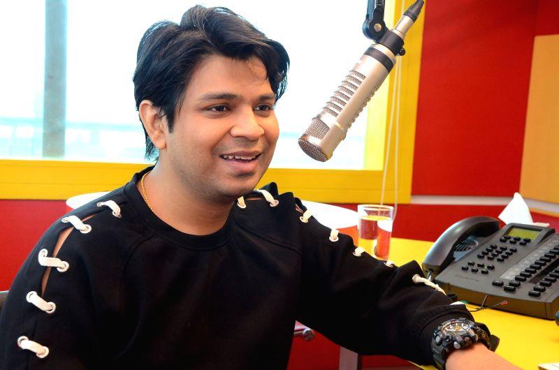 Hyderabad: Music director Ankit Tiwari at Radio Mirchi. (Photo: IANS)