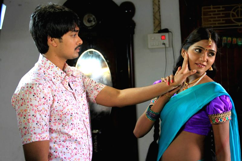 Music launch of Telugu film `Sailu`.