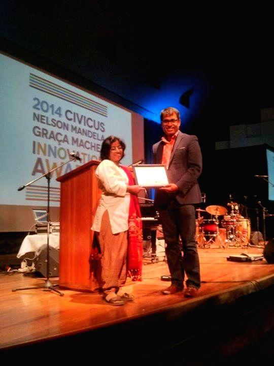 Naa Bangaaru talli Producer gets international award.