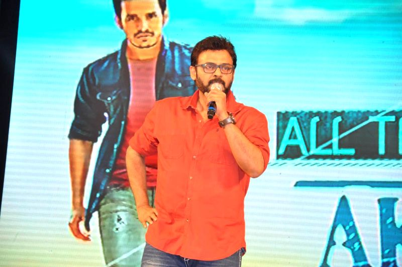 Nagarjuna`s son Akhil Akkineni launched as hero at Shilpa Kalavedika in Hyderabad on Saturday (14th Feb) evening.